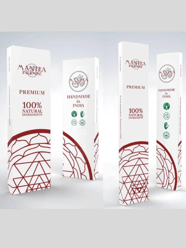 PREMIUM Mantra-Incense Aromas 15gm sticks & 50gm